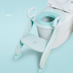Folding Child Potty Infant Kids Toilet Training Seat with Adjustable Ladder Portable Urinal Potty Toilet Seat for Kids LJ201112