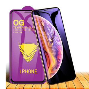 Для iPhone 12 11 Pro Max XR XS 6 7 PLUS 8 5D Premium Полный клей Закаленное стекло 9H Полная крышка Клей-экран Защитная пленка SE2020