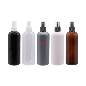 300ml X 20 Mist Spray Plastic Bottle Black Brown Refillable Perfume Cosmetic Bottles Packing Perfumes Container Fine Sprayergood qualtity