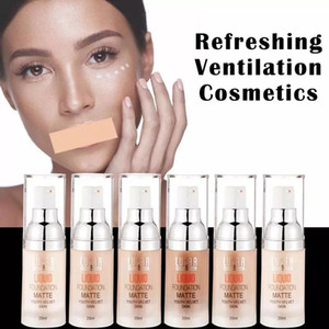 Full Cover Up Foundation Conealer Base De Maquillaje Velvety Matte Oil Free Light Weight Liquid Foundation Soft Tube