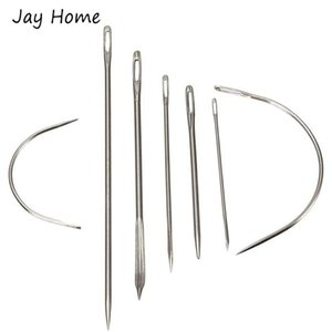 Sewing Notions & Tools 7Pcs Heavy Duty Hand Needles Home Carpet Leather Canvas Repair Patching Upholstery Accessories