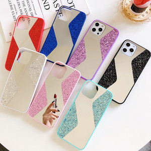 New Arrival Mirror Case Glitter Bling Cell Phone Case For iPhone12 pro max 11pro Xsmax Xr XS X 8plus 7plus 8G 6S