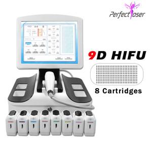 Professionnel 2D HIFU Beauty Machine Portable 2D HIFU Corps 20500 Coups et visage 11 lignes HIFU machine