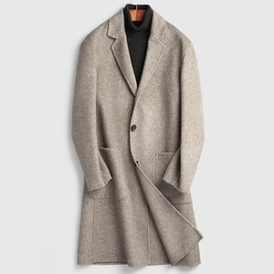 men's woolen coat