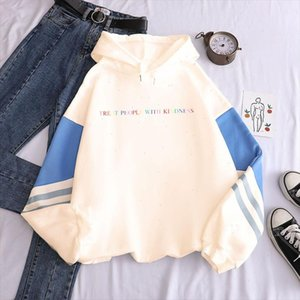 One Direction Graphic Harry Styles Merch Hoodie Treat People with Kindness Pullover Sweatshirt Clothes Tpwk Streetwear Women