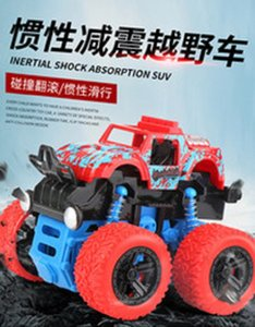 Best selling childrens toy Four-wheel drive interia off-road with stunt boy model SUV rock car for export wholesale