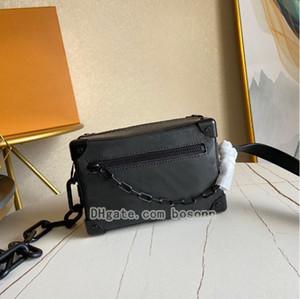 Sacs de luxe Vintage Messenger Sacs Mini Soft Trunk Series Classic Mens Hommes Bandbody Sacs Designer Sac à main Chaînes à l'épaule