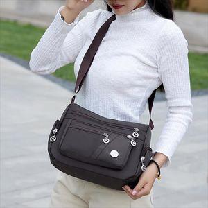 Women Simple Canvas Bag Corduroy Square Bag Fashion Shoulder Messenger Package 20 Drop Shipping Good Quality