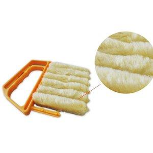 유용한 마이크로 화이버 창 세척 브러시 에어컨 살포기 청소기 세탁 가능한 베네 치안 블라인드 브러시 클린 도구 클리너 GWF4140