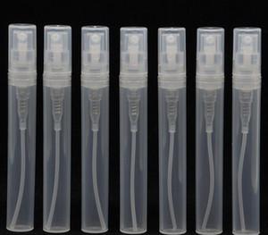 Transparente vacío botellas de pulverización de plástico vacío 2ml l 5ml 10 ml botella de perfume atomizador vacío 5cc mini recolectable sp jllnwv jhhome