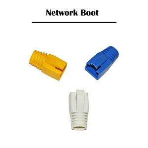 500 قطعة القط 7 الشبكات التمهيد UTP / بروتوكول نقل الملفات شبكة الكابلات RJ45 التوصيل حماية إيثرنت 8P8C كابل موصل كابل
