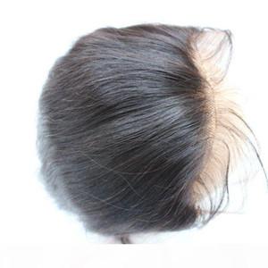Полное кружевное лобное закрытие 13x2 прямые бразильские человеческие волосы ухо для уха верхние кружевные фронтальные кусочки оптом цена