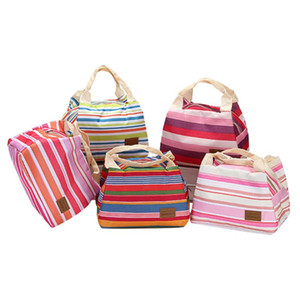 Thermal Finishing Home Decoration Gift Cosmetic Container Insulated Lunch Box Tote Cooler Zipper Bag Bento Lunch Pouch CL
