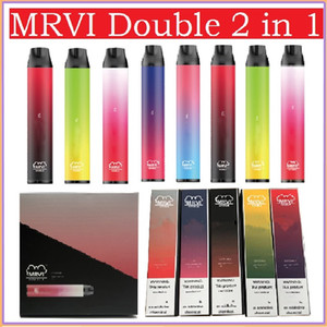 Autêntica MRVi dupla caneta de vape descartável com bateria de 900mAh 6ml pod 1000 + 1000 puffs 2 em 1 vs Pro Max Switch Bar Bar