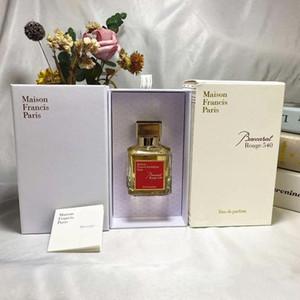 2020 Maison Francis Kurkdjian Baccarat Rouge 540 Extrait de Parfum Neutal Oriental Цветочный аромат 70 мл EDP Высококачественные качества высокого качества