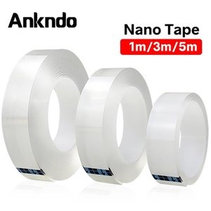 Nano Magic Tape Double-Sided Transparent tape Adhesive Nano Sticker Traceless Carpet Paster Phone Holder Wall Bracelet