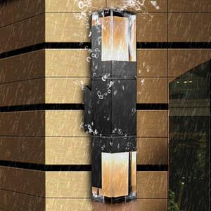 Acrilico Moderno Minimalista LED Parete Parete impermeabile IP65 7W 14W Lampada da parete per esterni per esterni per Garden Street Lighting
