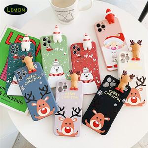 الهاتف الخليوي جديد آيفون 12 11 برو x xs ماكس 8 7 6 زائد الكرتون مصمم الإبداعية الغطاء الخلفي tpu هدايا عيد الميلاد