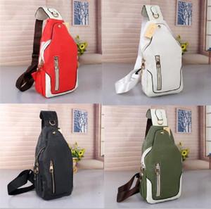 Avenida Designers de Luxo sacos Marcas Sling Ombro Bag Homens Peito Cross Body Bag Couro Pacotes de Viagens Sporty Packs Outdoor Ombro Bags Carteira 02