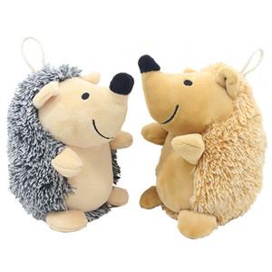 Jouets de chien de hérisson en peluche Hedgehog Entraînement impréctif en forme de chien en peluche pour chiots et petits animaux de compagnie JK2012XB