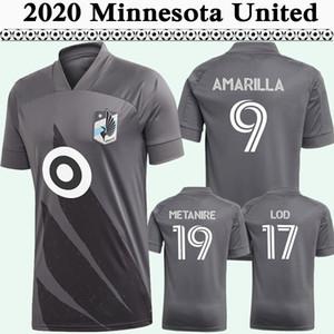 2020 OPRAHO GREGUS AMARILLA MENS FC Soccer Jerseys New Minnesota United Away Camisa de futebol Chacon Metanire Alonso Uniformes curtos