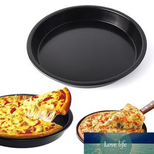 10-дюймовая круглая пицца плита Pizza Pan лоток из углеродистой стали не-палочки формы для выпечки инструмент для выпечки выпечки прессформы Pan Pattern кухонный инструмент для выпечки