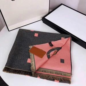 2021 Top inverno moda donna sciarpa di seta nuovo arrivo uomo womens 4 stagioni scialle sciarpa lattice lettere sciarpe taglia 190x65cm di alta qualità