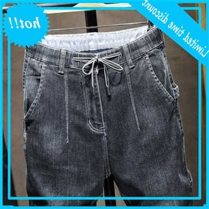 Streetwear Streetwear Streetwear Streetwear Homme Tail Joggers Joggers Jeans Homme Denm Denm Broek Big Taille 40 42083