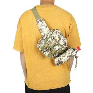 Men Waist Bag Tactical Bag Bolsa Tactica Militar Waterproof Outdoor Travel Hiking Army Camping Bags Phone Case