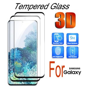 Premium 3D Curved Tempered Glass Case Friendly 9H HD Anti Scratch Screen Protector for Samsung Galaxy Note20 Ultra Note 10+ s20 s10 s9 s8