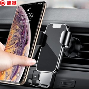 Universal Car Phone Holder Gravity Car Holder Air Vent Stand Mount For iPhone XS X 8 7 In Car Holder Stand Bracket