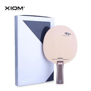 Подлинная XIOM Hinoki S7 Настольный теннисный лезвие Профессиональная ракетка спортивный настольный настольный теннисный ракетка кипариса