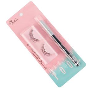 New beauty tool false eyelash pencil set exquisite false eyelashes eyebrow pencil eyebrow sharpener set source