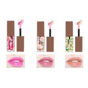 Color Changing Transparent Lip Gloss Makeup Fruit Lip Gloss Moisturizing Nourishing Liquid Lipstick Plant Baby Lips Cosmetic