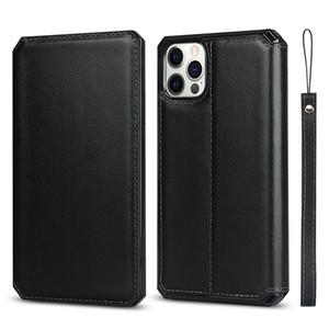 Luxury Wristband Bracelet Genuine Plain Leather Wallet Clutch Bracket Phone Case for iPhone 12 Mini 11 Pro Max XR 6s 8 Plus SE