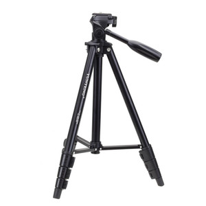 Fittest Yunneng VCT-681 138cm SLR Micro-SLR Digitalkameras Stativständer 4-Querschnitt Faltende Aluminiumbeine Geeignet für Canon Nikon Panas
