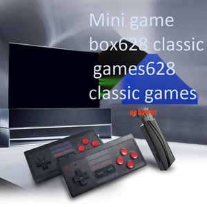 RS-568 video Game Console USB 8Bit TV Wireless Handheld Game Console RS-628 Build In 628 Classic Dual Gamepad HD AV Output