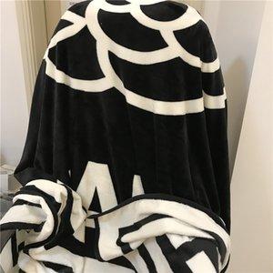 200x220см Camellia черный белый бросок флисовое одеяло со старинным узором цветок путешествия одеяла для кроватей minato manta spa одеяло