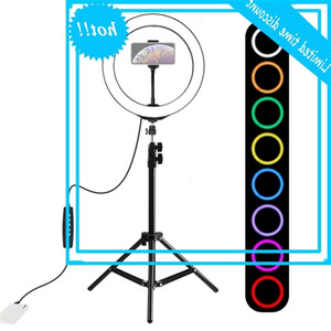 10 Inch Photo Selfie Static Led Ring Light For Telephone Youtube Video Camera Studio Shoot