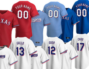 2020 Joey Gallo Texas Jersey Adrian Beltre Rougged Odor Shin-soo Choo Nolan Ryan Elvis Andrus Ronald Guzman Rodriguez Gibson Baseball Jersey