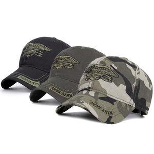 2020 Cotton Classic Baseball Cap Adjustable Buckle Closure Dad Hat Sports Golf NAVY SEAL Cap Embroidered Baseball Cap