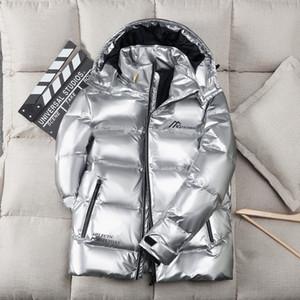 Uomo Donna Casual Glossy Piumino Down Down Cappotti Mens Outdoor Caldo Piuma uomo Cappotto invernale Cappotto Outwear Giacche Parkas 2021