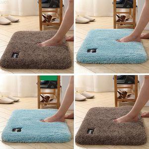 Dongsheng bathroom water absorbent mat entrance home carpet floor toilet door