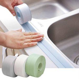 Dropshipping Kitchen Wall Sealing Tape Bathroom Waterproof Mildew Proof Sink Joint Crevice Sticker Corner Line Sticking Strip