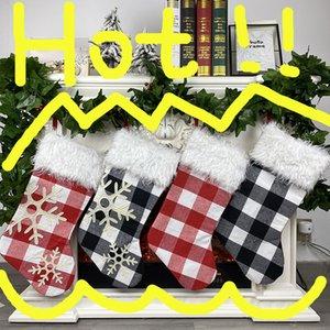 2020 Cross Cross Border New Productos Amazon Navidad Decoraciones Inicio Navidad Calcetines Bolsa de regalo Navidad Grandes Calcetines