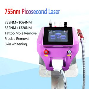 2020 Picosecond Laser Tattoo Remover With 4 Tips 755  1064 532 1320nmPicosureLaser Eyebrow Rremover PigmentationRemoval Carbon Peel#002