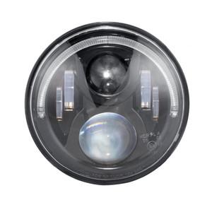 7 inç 36 W Yuvarlak LED Projektör Far Halo Yüzük ile Melek Göz Hi-Lo Işın H4 Canbus Koşum 12 V / 24 V Touring Softail için