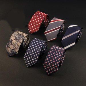 Yeni 6 cm Neckties Kravat Erkek Ayarlanabilir Çizgili Kadın Sıska Papyon Düğün Beyllemen Cravat Corbatas Için