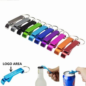 포켓 키 체인 맥주 병 오프너 발톱 막대 작은 음료 키 체인 링 할 수있는 로고 BWC3888