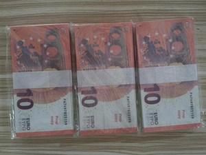 Euros Fake Money Banknotes Prop Money Paper 10 Euro Bills Prices Bank Note Business Gifts for Men Fake Paper Money for Collection856